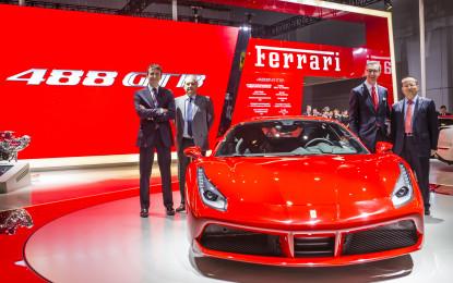 488 GTB: debutto a Shanghai