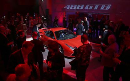 488 GTB: mille ospiti a Londra per il debutto