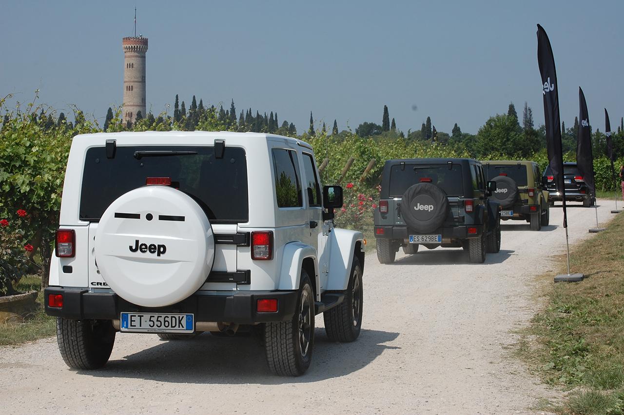 """Jeep e Salotti del Gusto: """"Taste and Drive"""""""