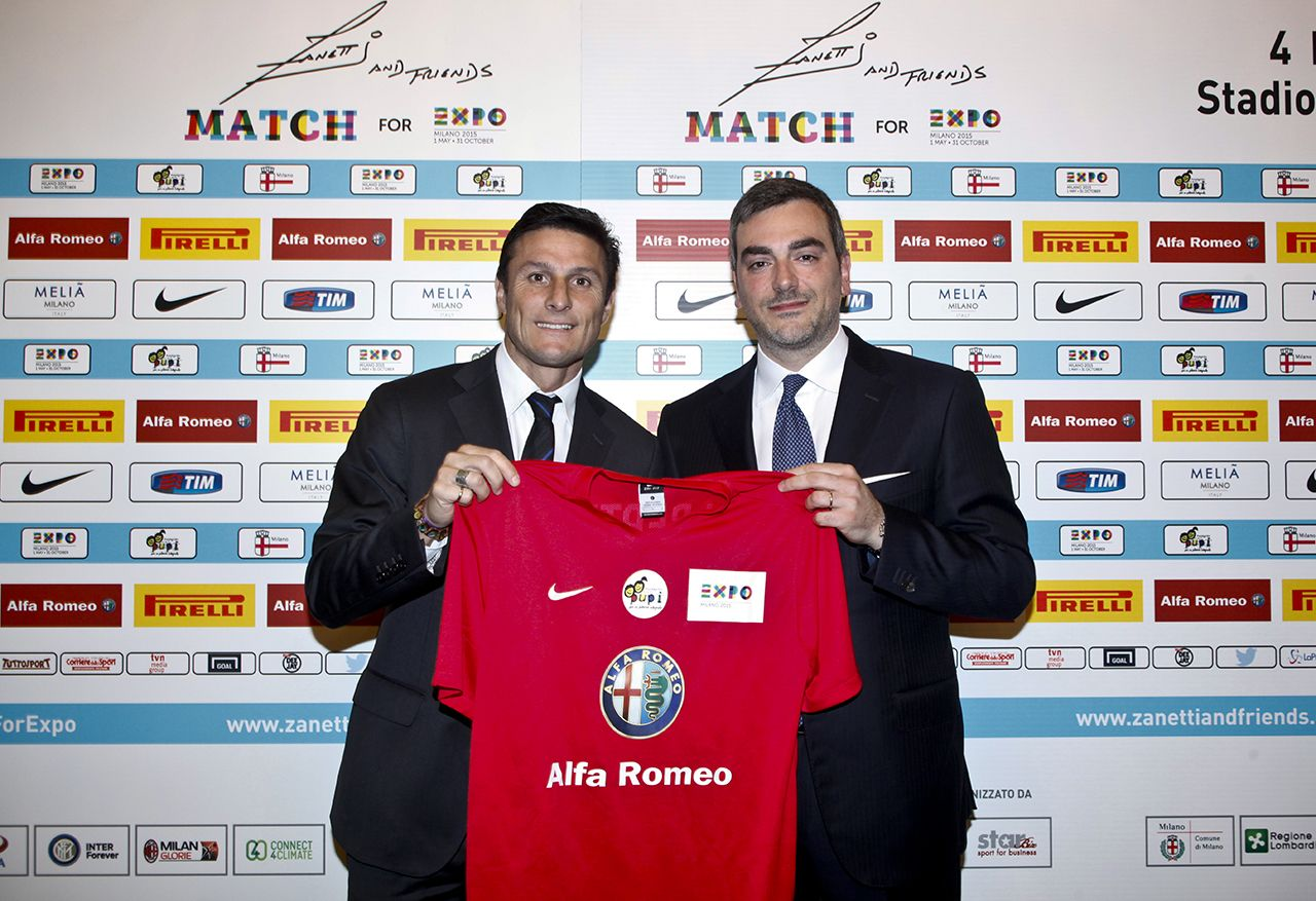 Zanetti and Friends Match for Expo Milano 2015