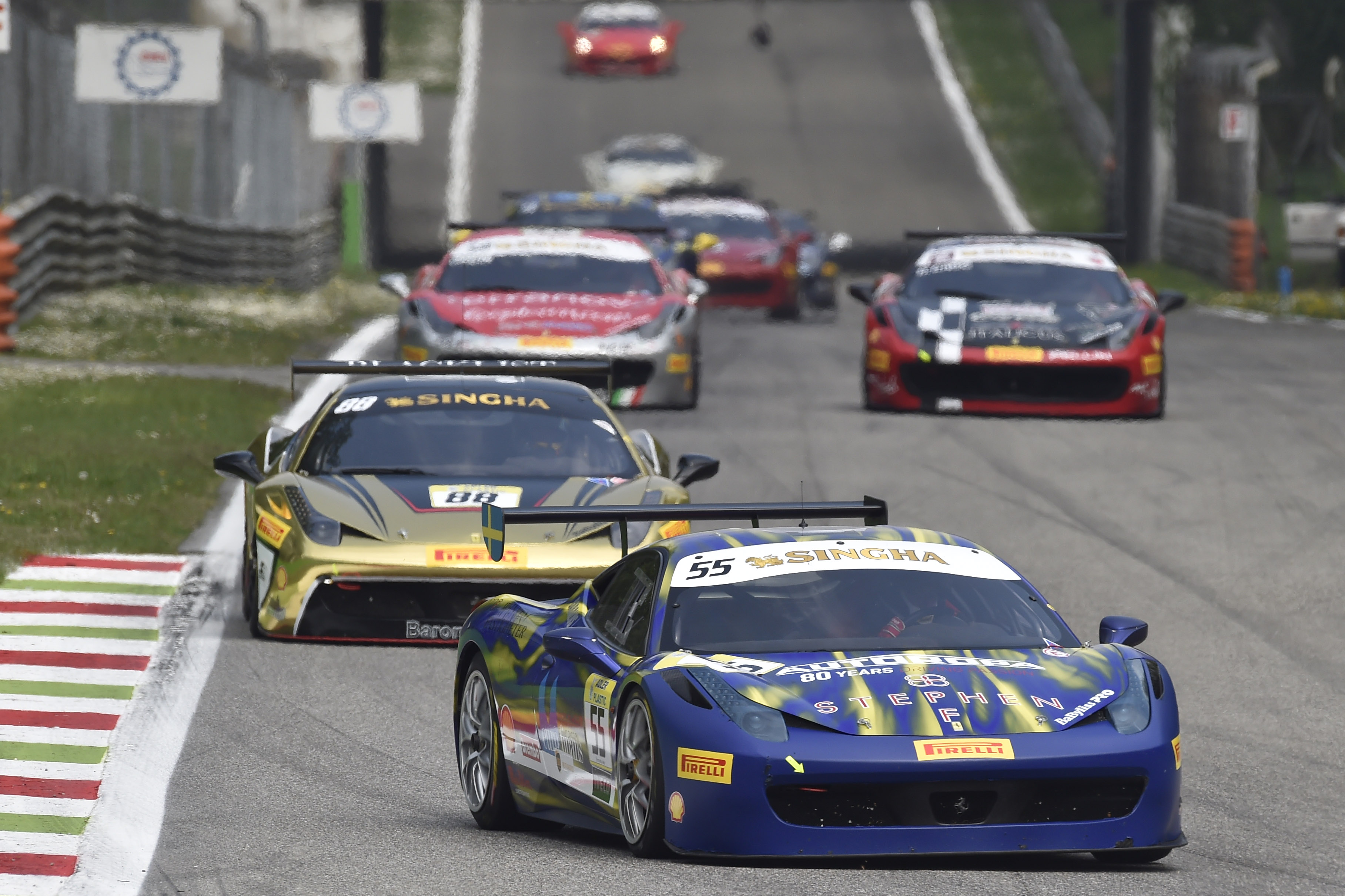 Challenge: a Monza vincono Babalus, Rocca e Duyver