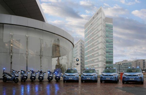 BMW i3 e C evolution alla Polizia per EXPO 2015