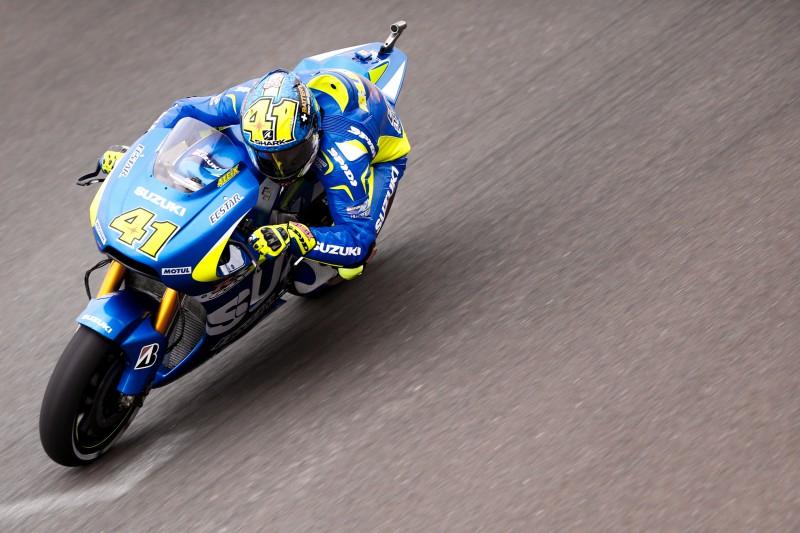 MotoGP: venerdì nel segno della Suzuki