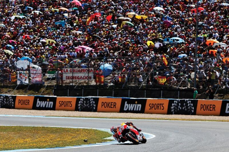 Honda a Jerez con Marquez infortunato e Pedrosa out