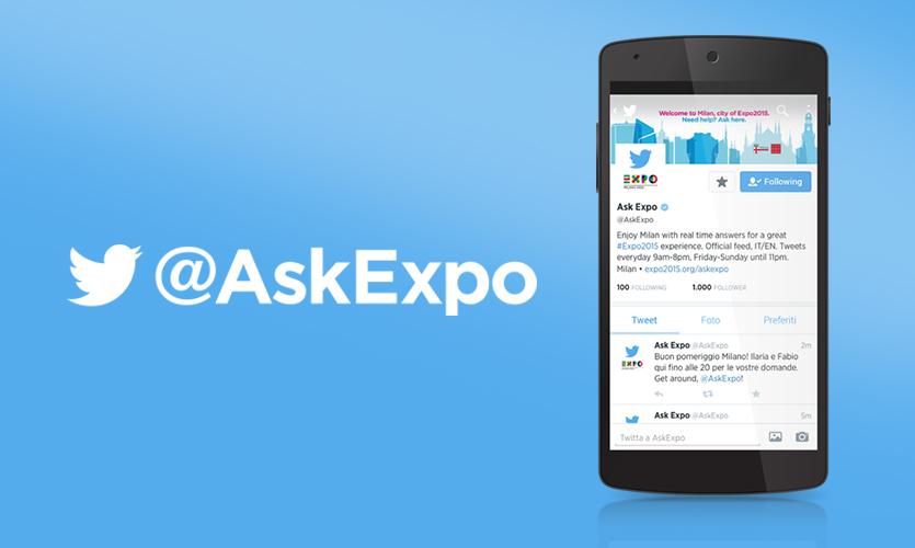 @AskExpo, il social info point