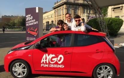 Toyota AYGO Fun Sharing
