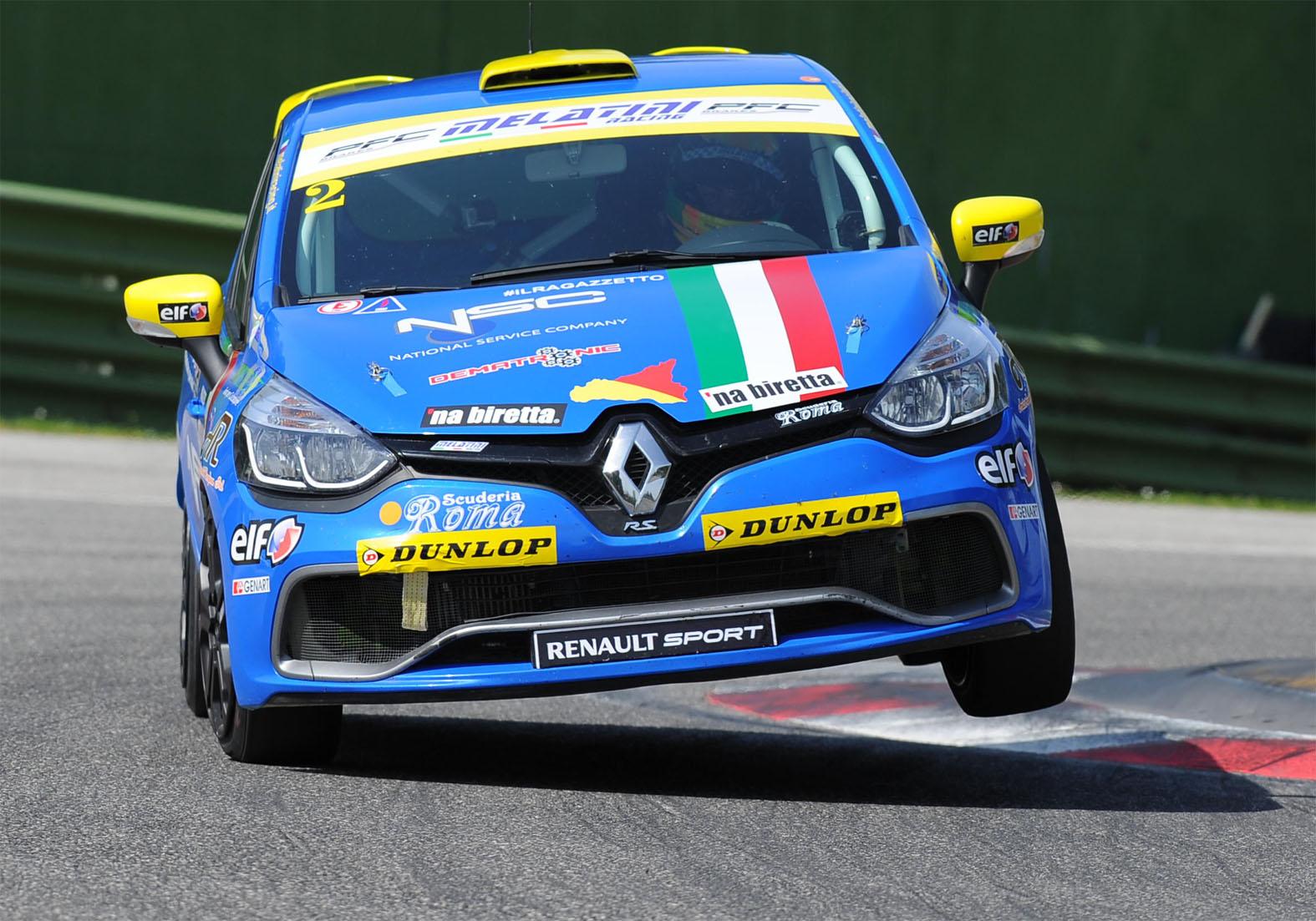 Clio Cup Italia in pista a Varano