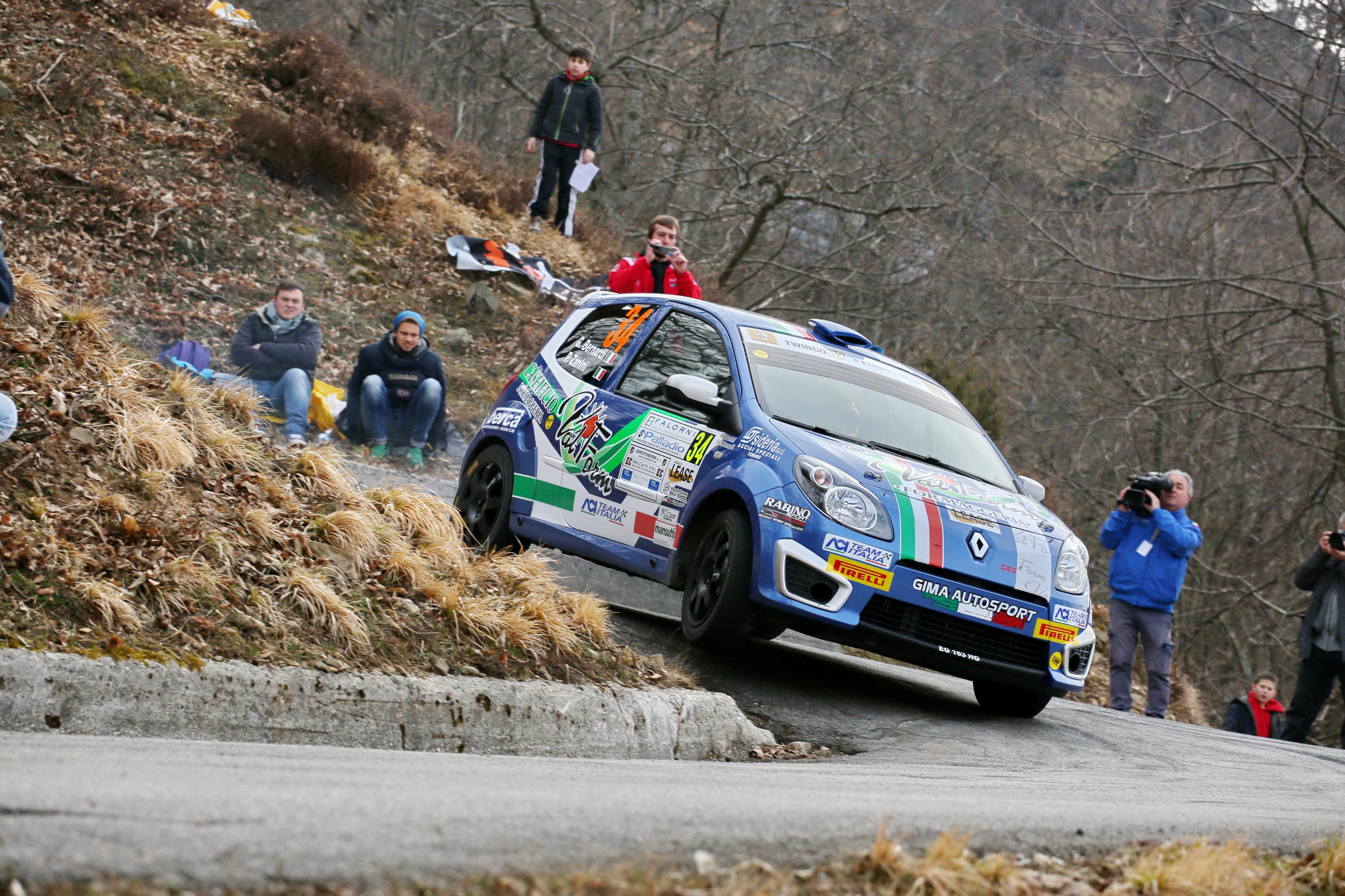 I Trofei Renault al 62° Rally di Sanremo
