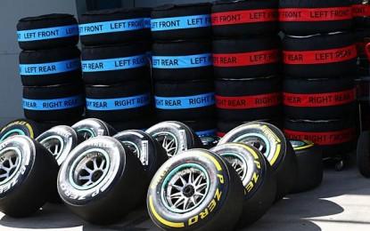 F1: le mescole per Spagna, Monaco, Canada e Austria