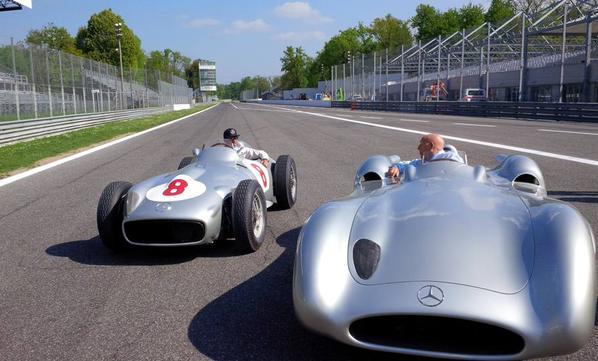 Hamilton & Moss: magia a Monza!
