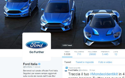 Ford: panel al Salone del Mobile in diretta su Periscope
