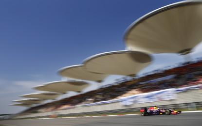 GP Cina: set scelti per pilota