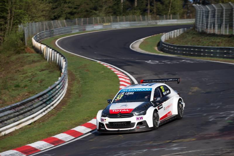 WTCC: le Citroën domano la Nordschleife