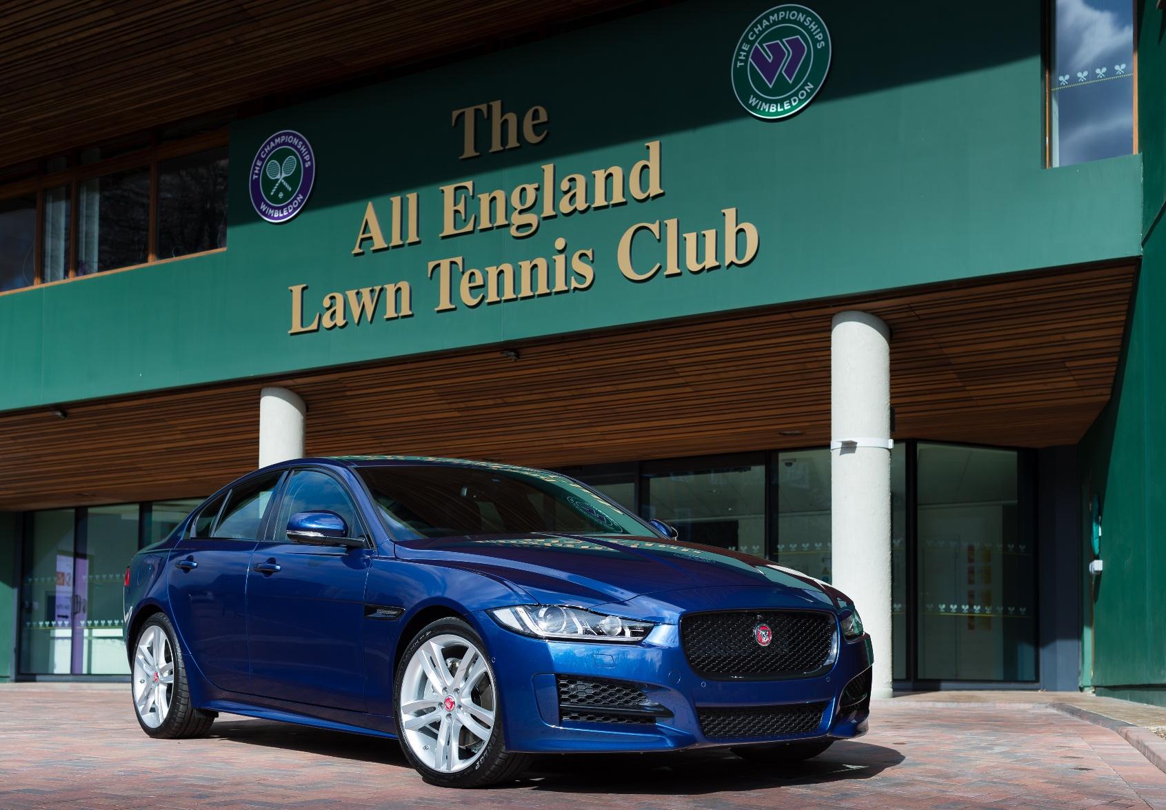 Jaguar vettura ufficiale a Wimbledon