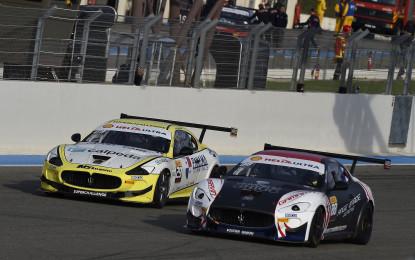 Trofeo Maserati: Ragazzi vince Gara 1
