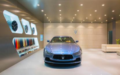 Maserati al Salone di Shanghai