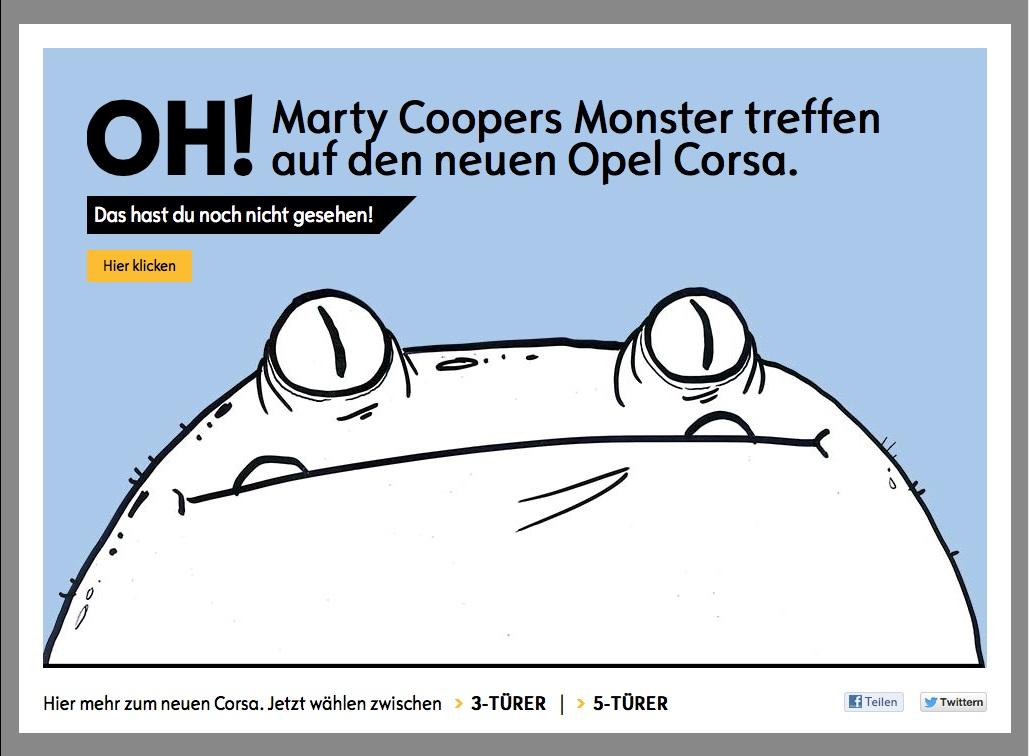 Opel Corsa raccontata da Marty Cooper