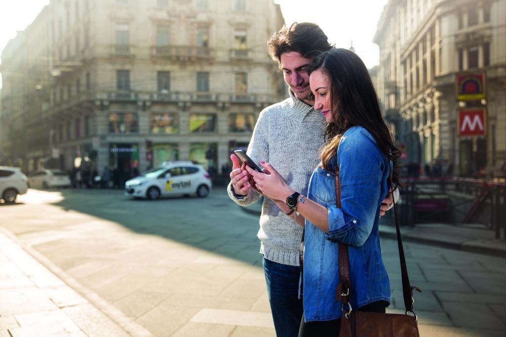 mytaxi, l'App per i taxi, sbarca a Milano