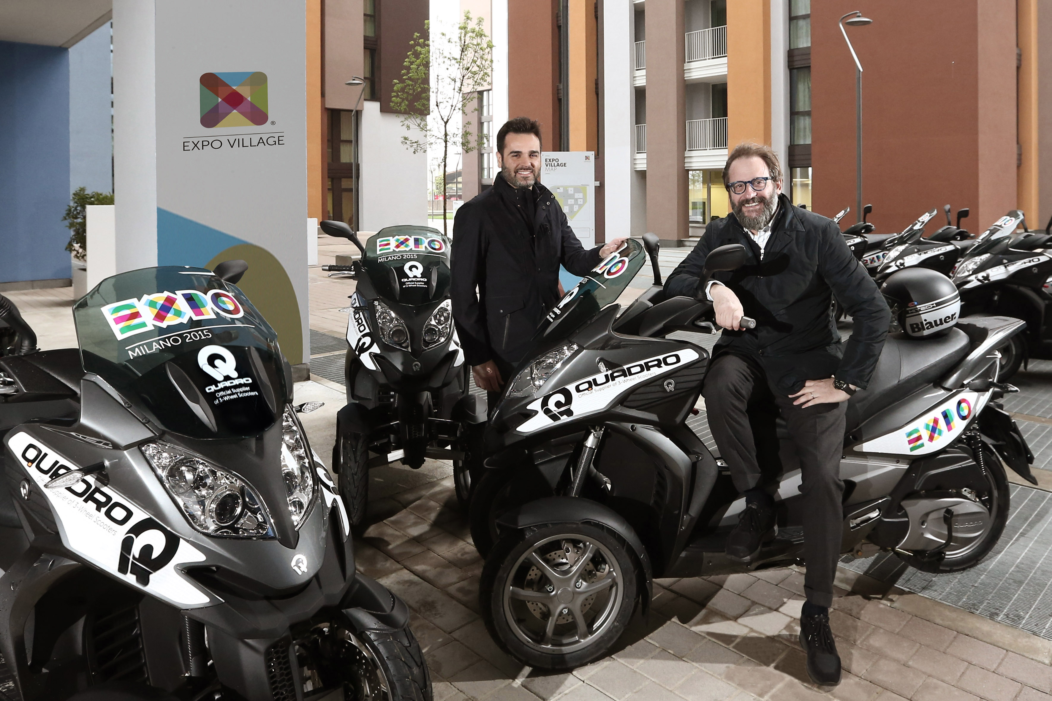 QUADRO official supplier 3-WHEEL scooters EXPO2015