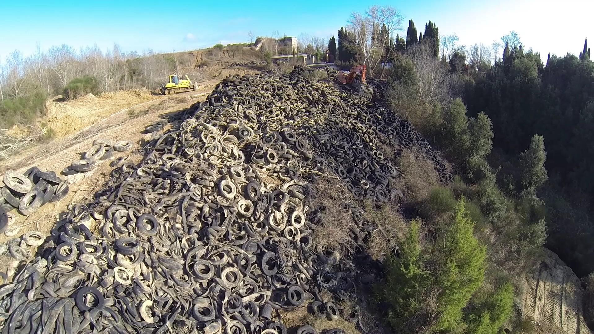 Collina della vergogna: lavori in corso a Rapolano