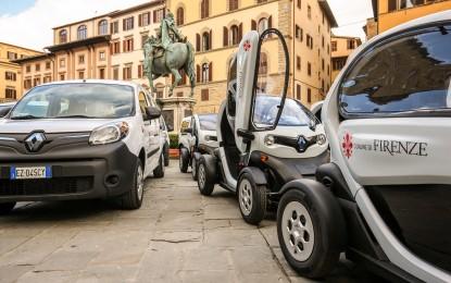 Renault per Firenze con 70 veicoli elettrici