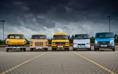 Ford Transit: 50 anni di successi