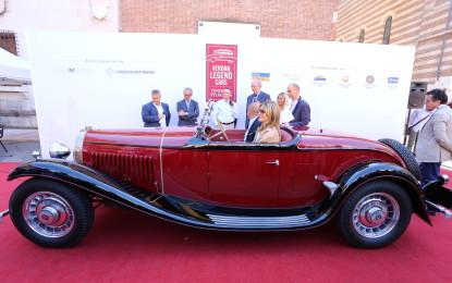 Bugatti inaugura Verona Legend Cars