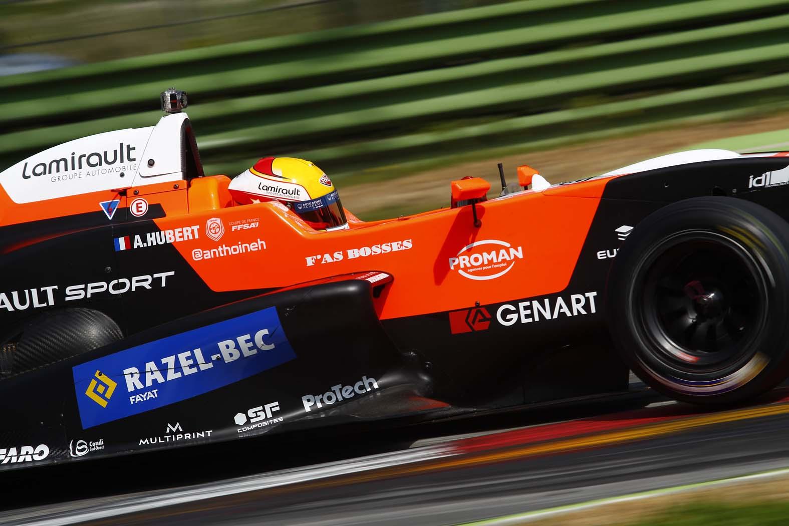 F. Renault 2.0 ALPS: a Hubert la prima pole 2015