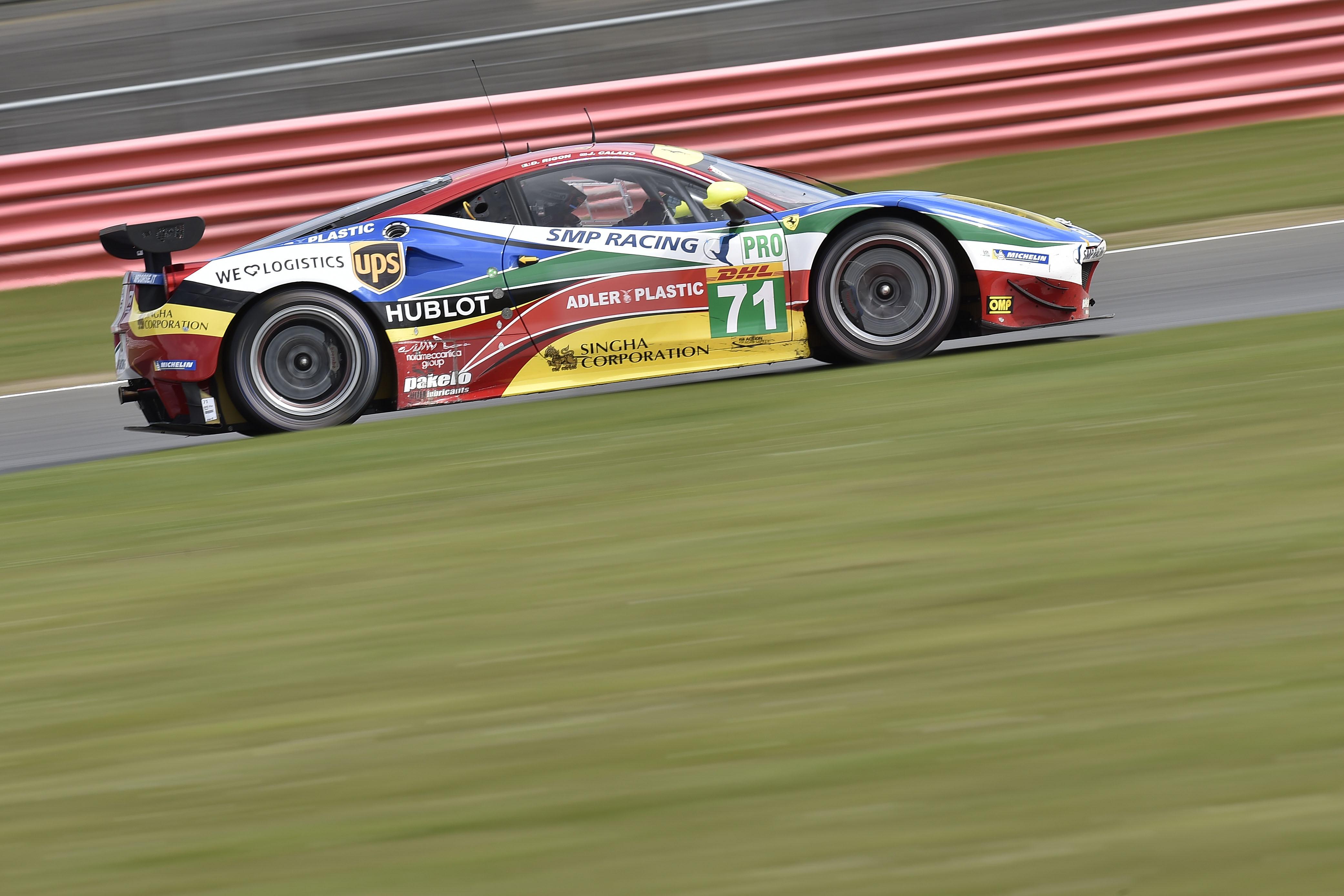 WEC: subito podio a Silverstone per Davide Rigon