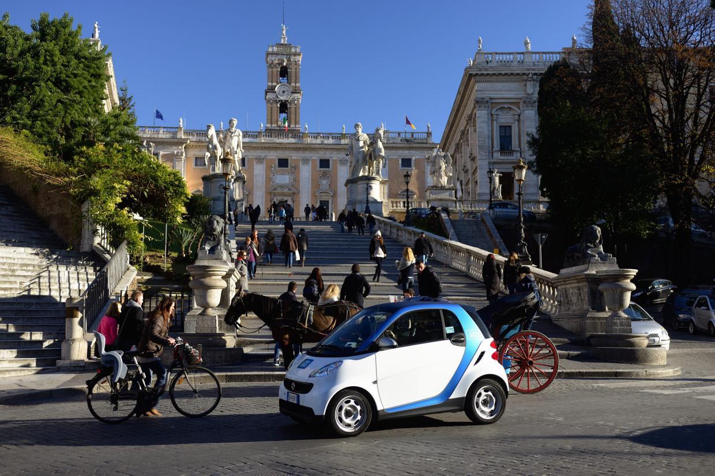 car2go Roma: buon compleanno!