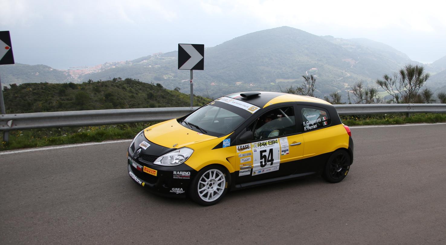 Trofei Renault IRC all'Elba: i vincitori