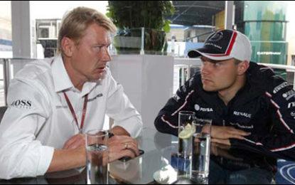 Hakkinen confirms Bottas negotiations