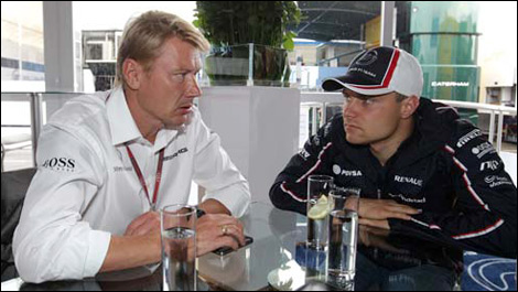 Hakkinen confirms Bottas negotiations