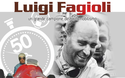 Luigi Fagioli e l'Alfa 158 F1 in mostra a Gubbio