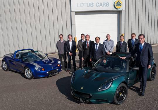 Lotus Cars festeggia 40mila esemplari