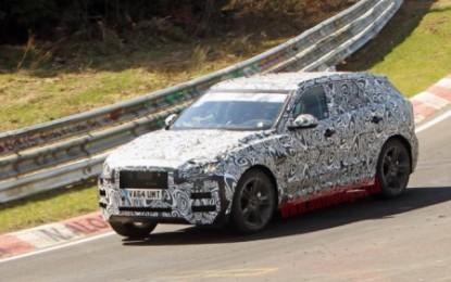 Spy: Jaguar F-Pace al Nurburgring