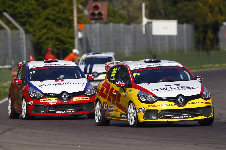 Clio Cup Italia: il bilancio del weekend di Imola