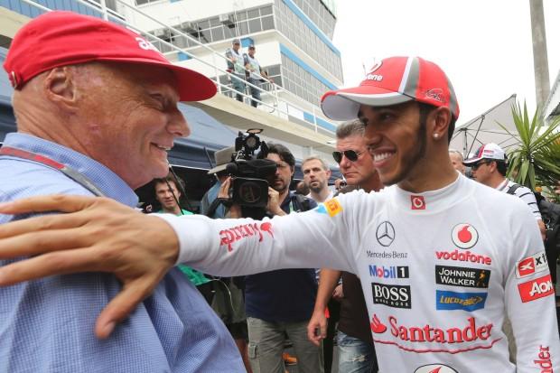 """Lauda: """"Hamilton alla Mercedes per i prossimi 3 anni"""""""