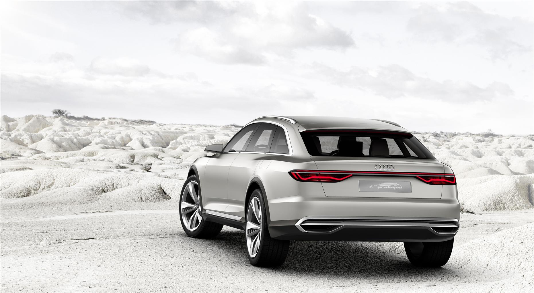 Show car Audi prologue allroad