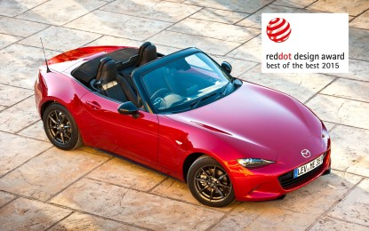 Mazda: tre novità, tre premi Red Dot 2015