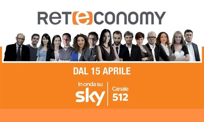 Reteconomy: dal 15 aprile sul canale 512 di Sky