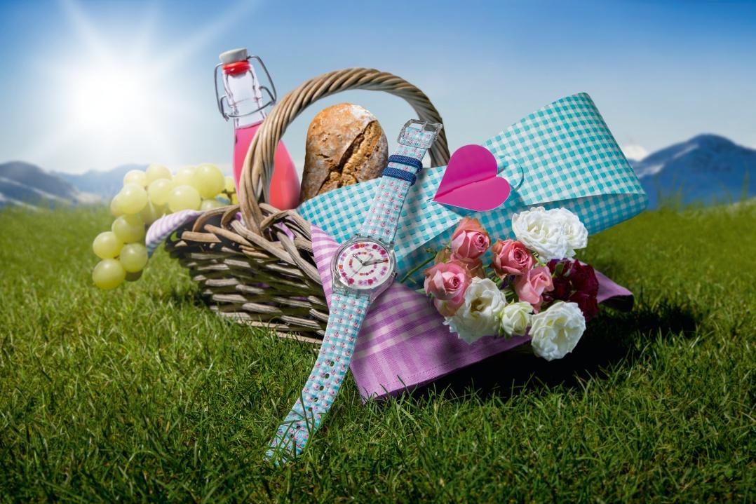Swatch: sole e fiori per la Festa della mamma