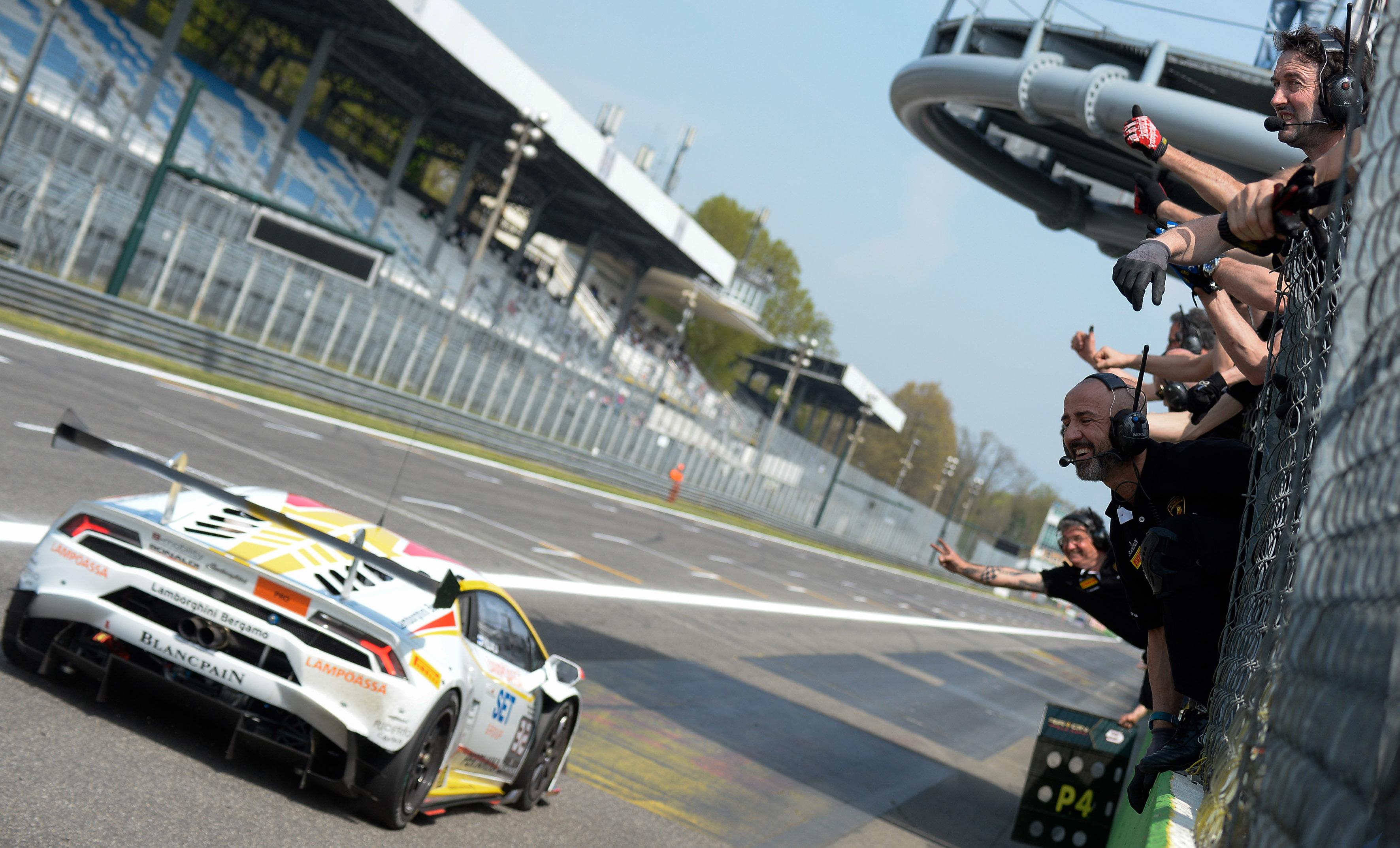 Lamborghini: doppietta di Kujala a Monza