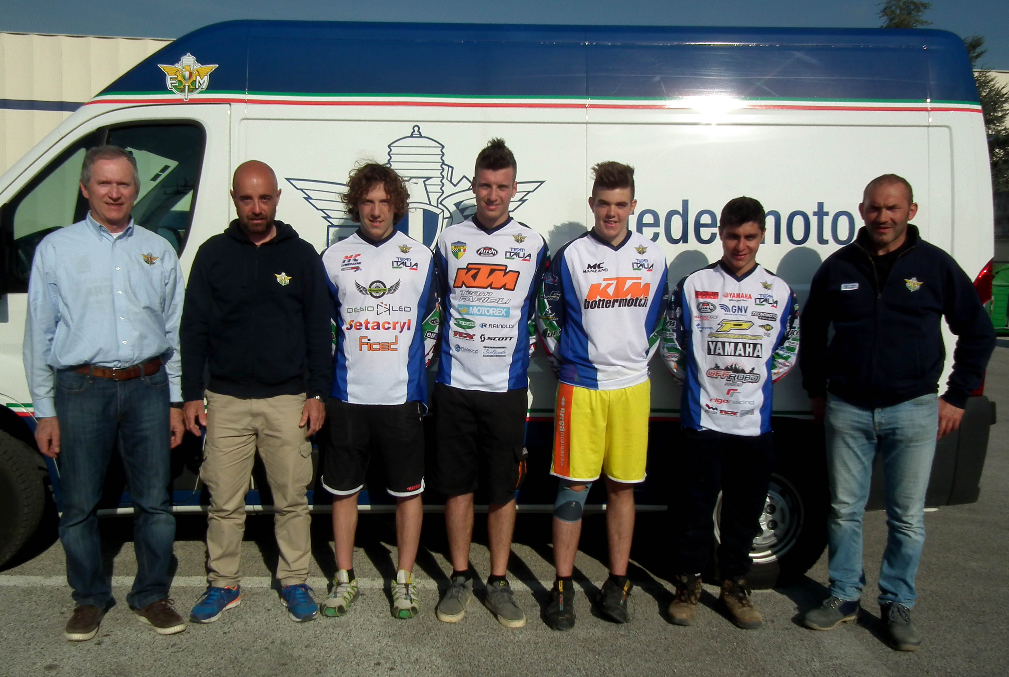 Il Team Italia Enduro brilla all'Europeo