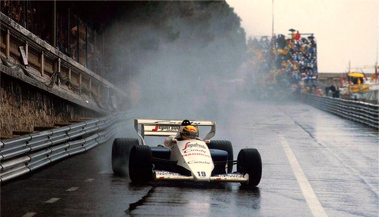 La Toleman-Hart di Senna e qualcosa di magico…