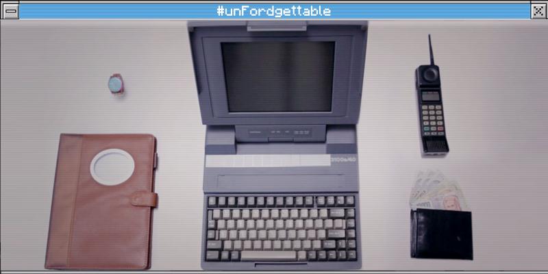 #unFordgettable: gli anni 90 in un esperimento Ford