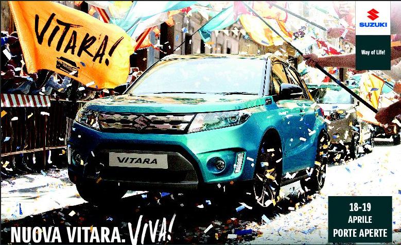 Suzuki Vitara: porte aperte nel weekend