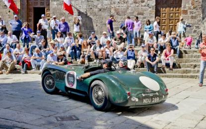 La Mille Miglia 2015 passa da Monza