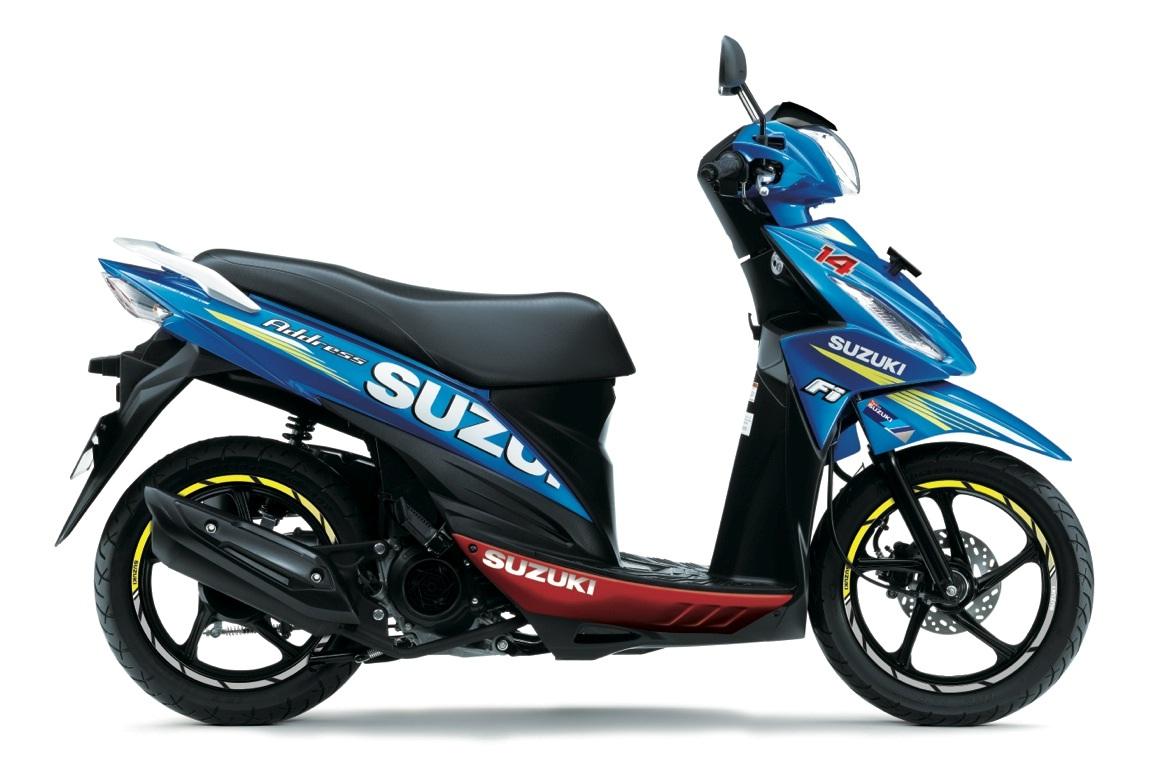 Suzuki ADDRESS, dalla città alla MotoGP