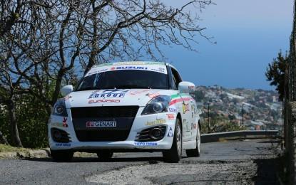 Suzuki Rally Trophy al Targa Florio